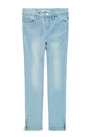 cropped skinny jeans Polly light denim bleached