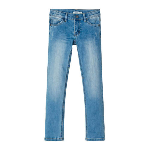 NAME IT KIDS x-slim fit jeans Theo light denim