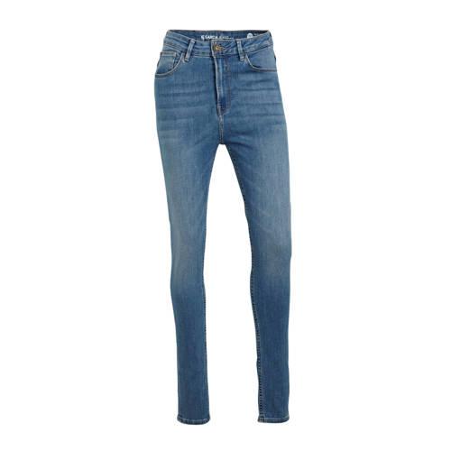 Garcia high waist skinny jeans Enrica donkerblauw