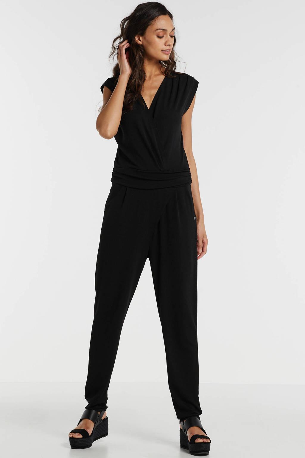 Garcia jumpsuit zwart, Zwart
