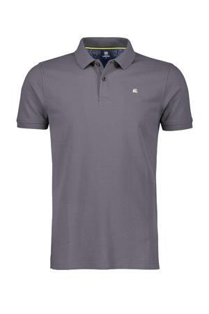 regular fit polo rock grey