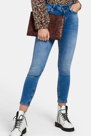 cropped high waist skinny jeans Ametist Denim blauw