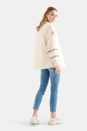 cropped high waist skinny jeans blauw
