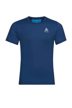 hardloop T-shirt donkerblauw