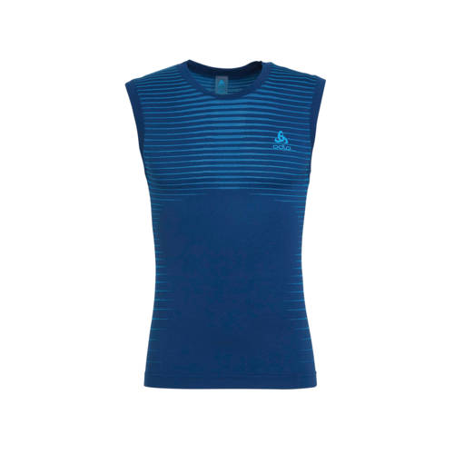 Odlo sportsinglet blauw