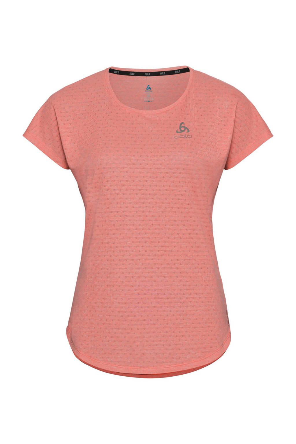 Odlo hardloopshirt roze, Roze