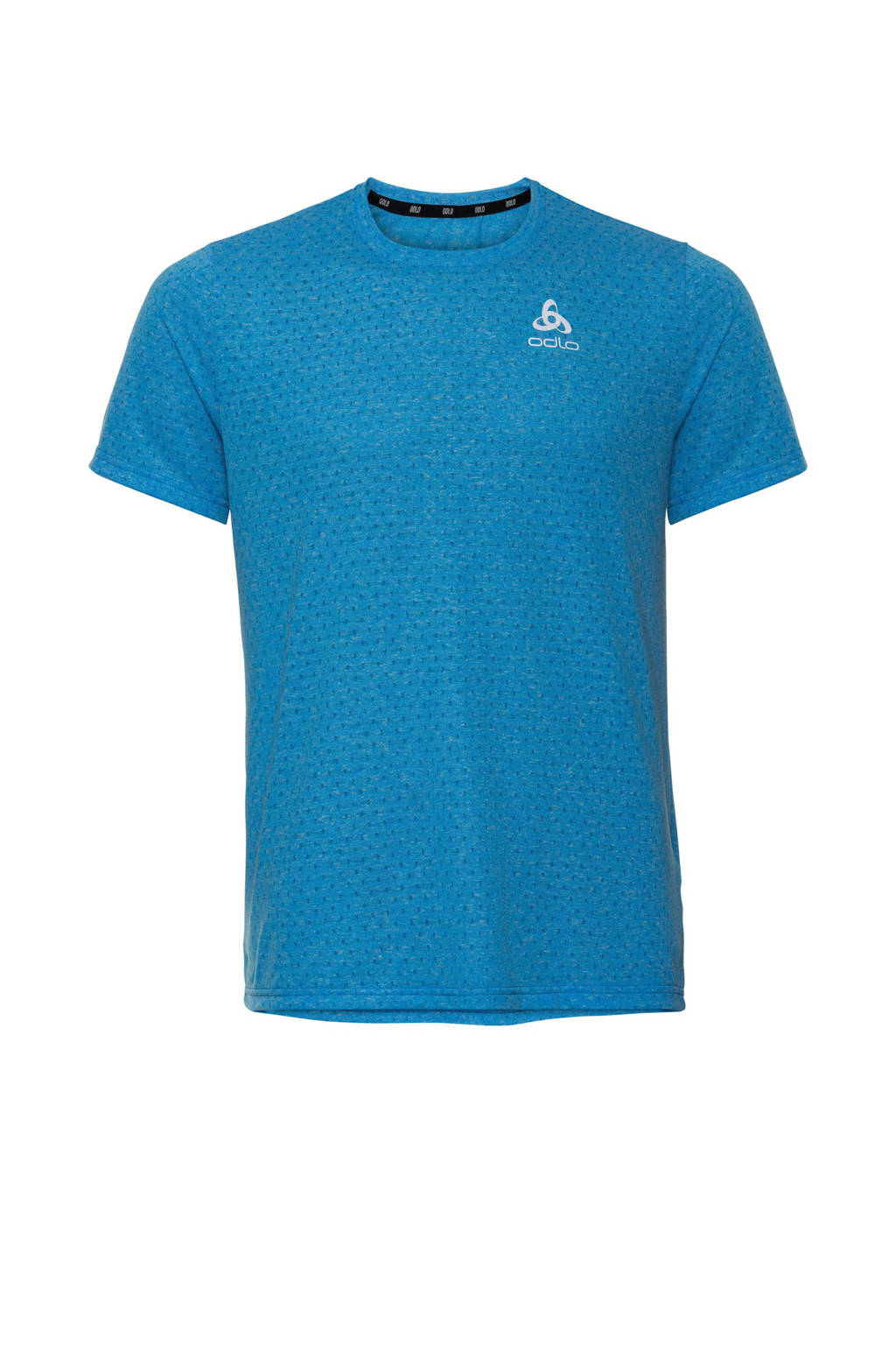 Odlo   hardloopshirt blauw, Blauw
