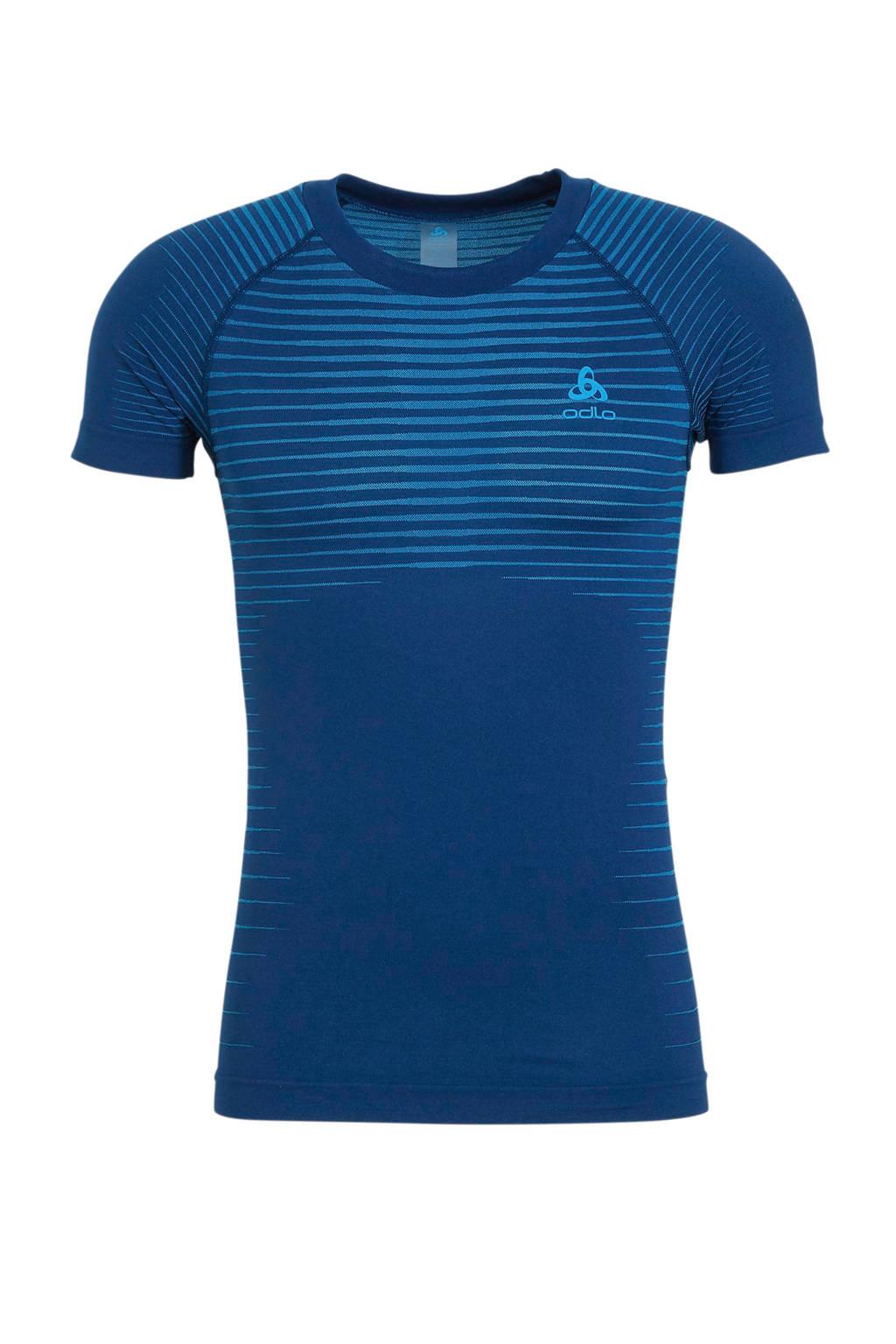 Odlo   sport ondershirt blauw, Blauw