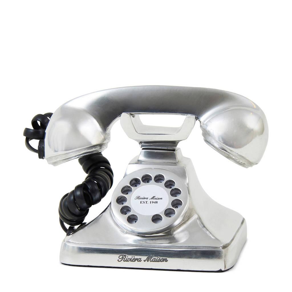 Riviera Maison mini telefoon, Zilver