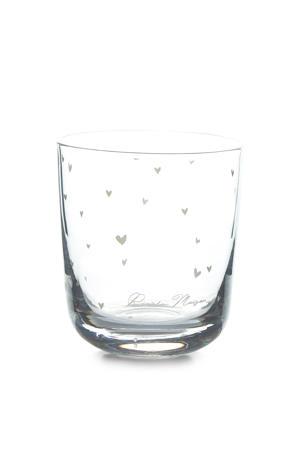 Lovely Hearts waterglas S