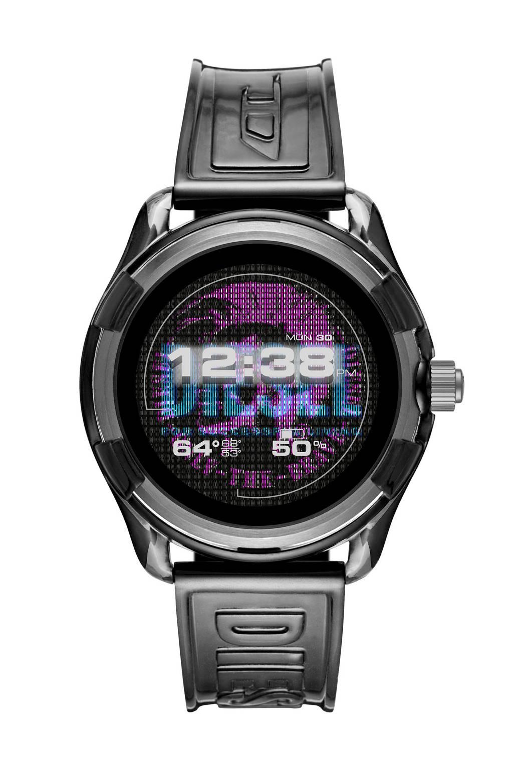 Diesel Fadelite heren display smartwatch DZT2018, Grijs