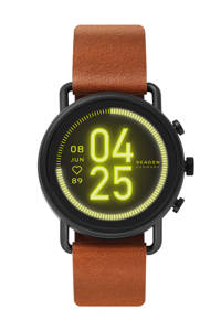 Skagen Falster 3 Gen 5 Heren Display Smartwatch SKT5201, Cognac