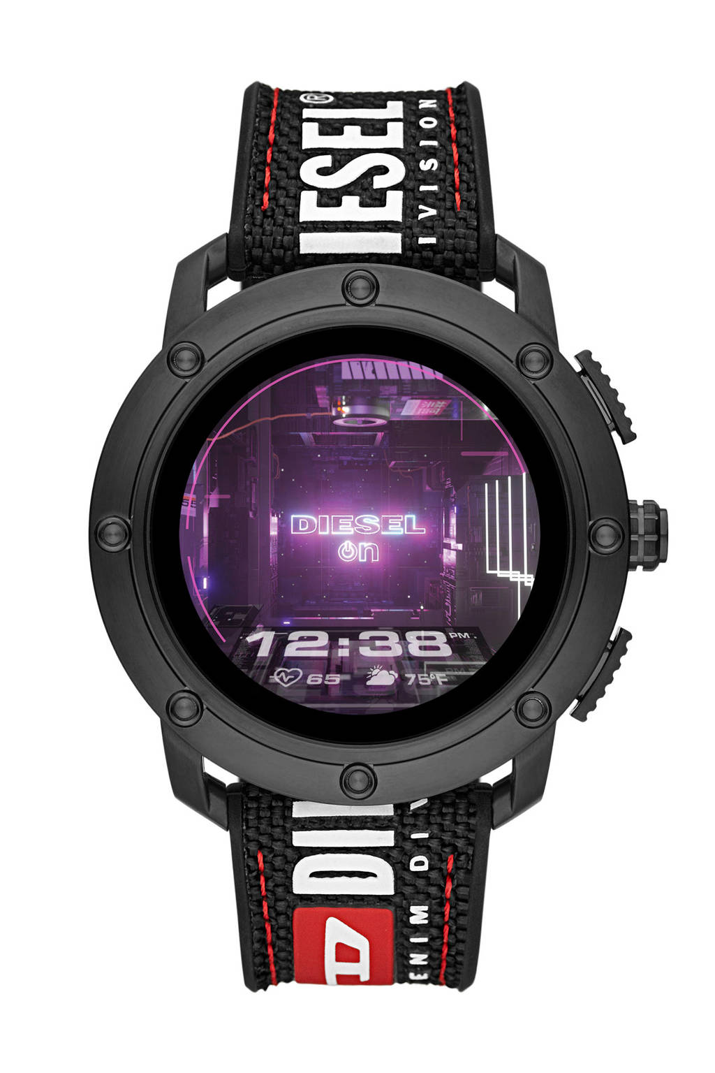 Diesel Axial Gen 5 Heren Display Smartwatch DZT2022, Zwart