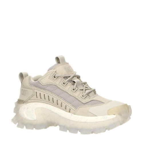 Caterpillar Intruder nubuck sneakers wit/beige