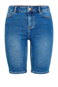 PIECES jeans short blauw, Blauw