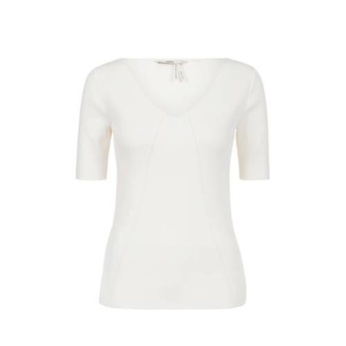 Steps fijngebreid T-shirt wit