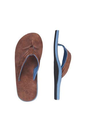 Arch Boulevard Sandals  teenslippers bruin/blauw