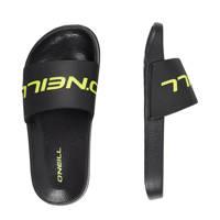 O'Neill Cali Slides Sandales  slippers zwart/geel, Zwart/geel
