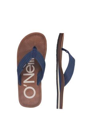 CHAD Logo Sandals  teenslippers blauw
