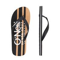 O'Neill Profile Cali Wood Sandals  teenslippers zwart, Zwart