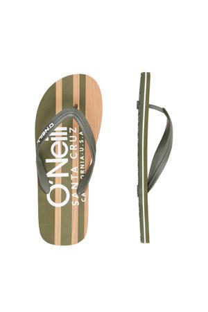Profile Cali Wood Sandals  teenslippers groen