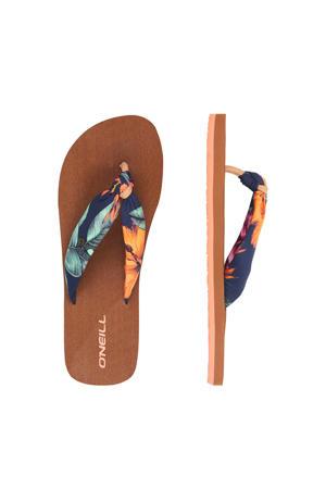 Ditsy Sun Sandals  teenslippers blauw