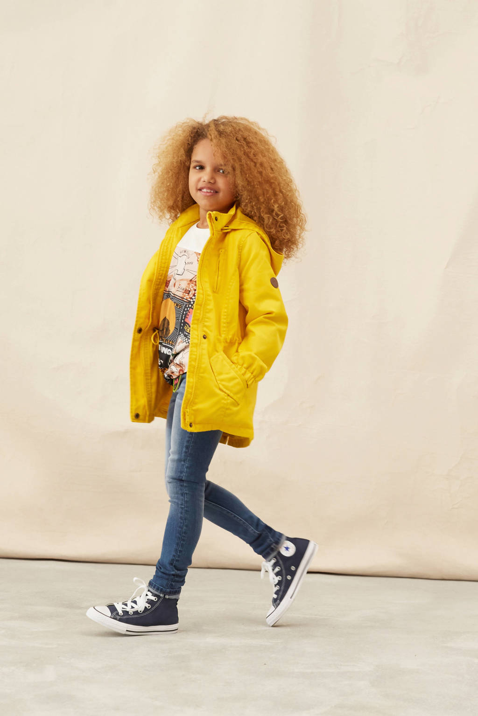 KIDS ONLY zomerjas Newlorca geel, Geel