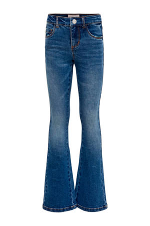 high waist flared jeans Linn stonewashed