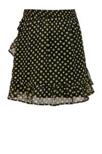 KIDS ONLY rok Dut met all over print zwart/goud, Zwart/goud