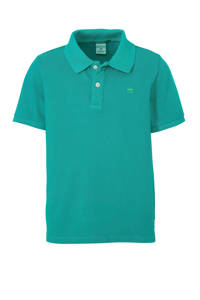 Scotch & Soda polo zeegroen, Zeegroen