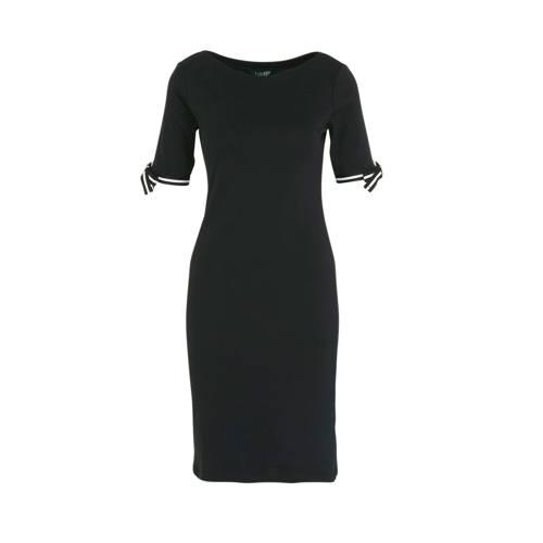 Lauren Ralph Lauren jersey jurk zwart