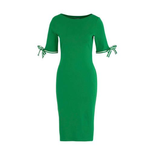 Lauren Ralph Lauren jersey jurk Brandeis groen