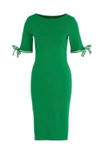 Lauren Ralph Lauren jersey jurk Brandeis groen, Groen