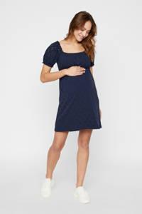 MAMALICIOUS zwangerschapsjurk Molly en plooien donkerblauw, Donkerblauw