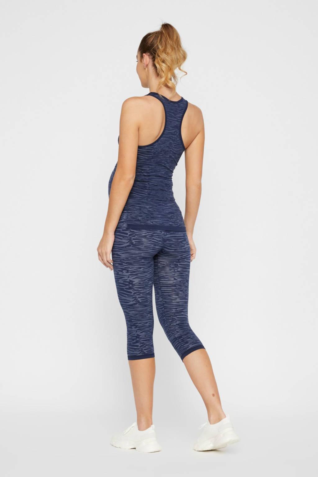 MAMALICIOUS sportbroek blauw, Blauw/lichtblauw