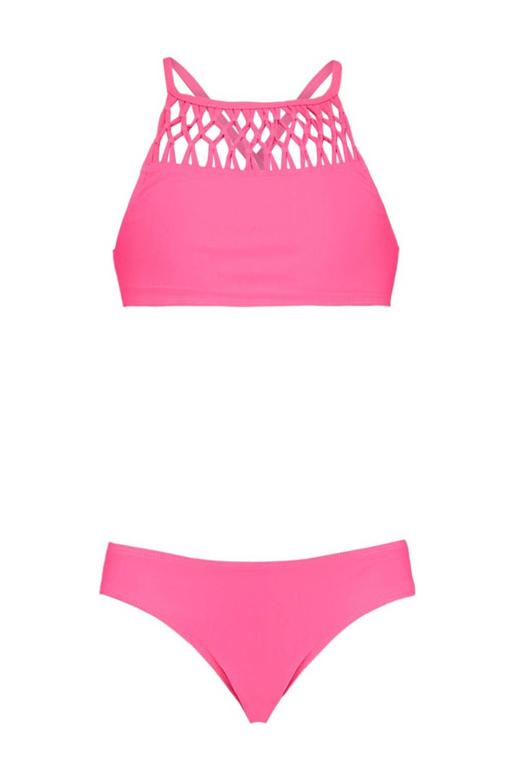 CoolCat Junior crop bikini Yessie roze, Roze