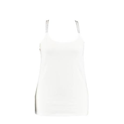 MS Mode top gebroken wit
