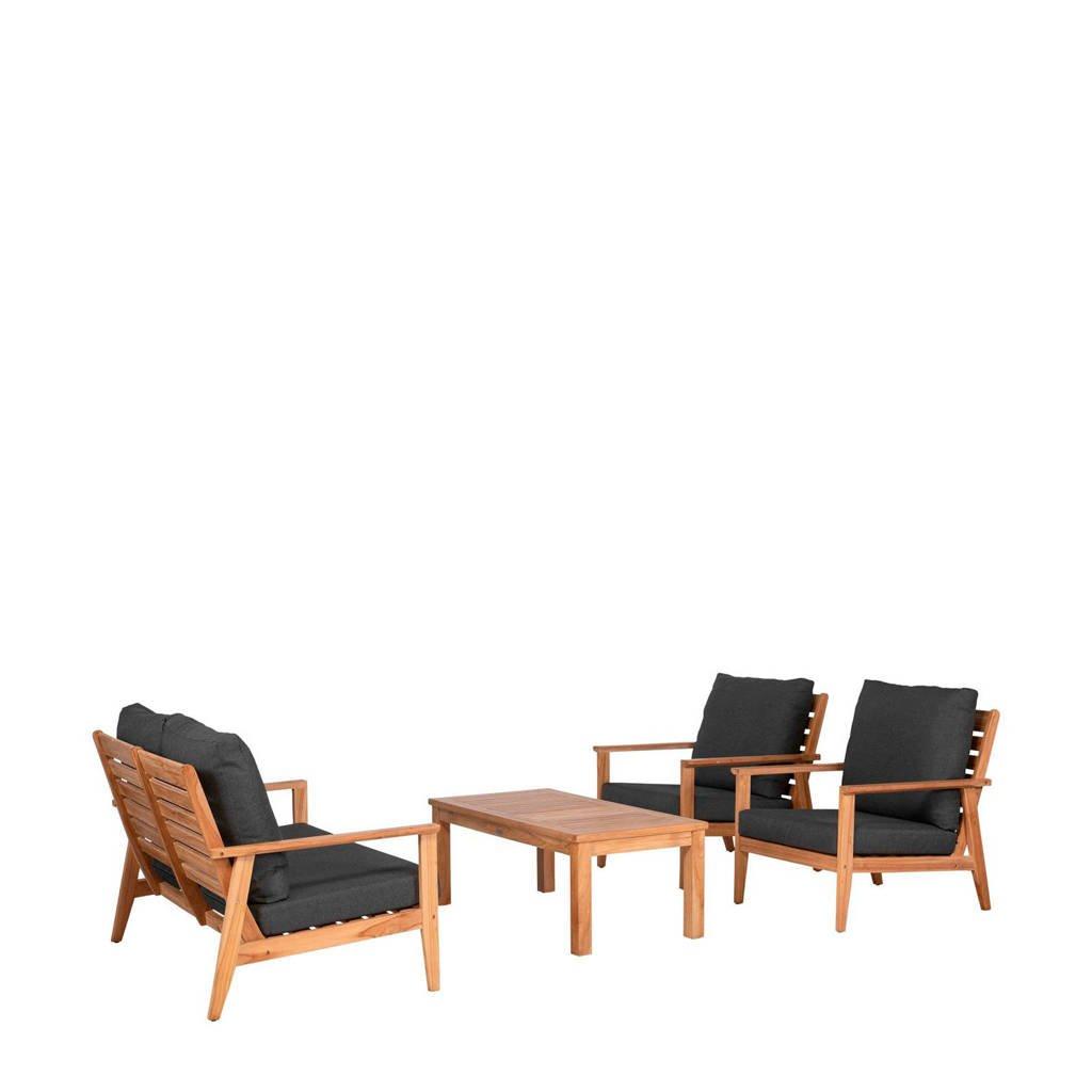 Exotan loungeset Mirage, Bruin/grijs