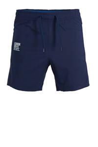 Superdry Sport   sportshort blauw, Blauw