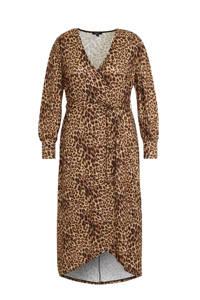 Simply Be jurk met all over print bruin, Bruin