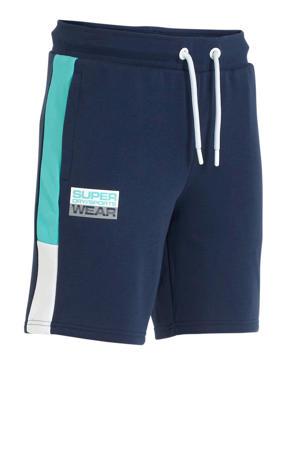 joggingshort blauw