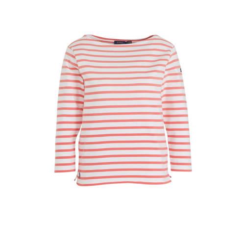 POLO Ralph Lauren gestreept T-shirt rood/wit
