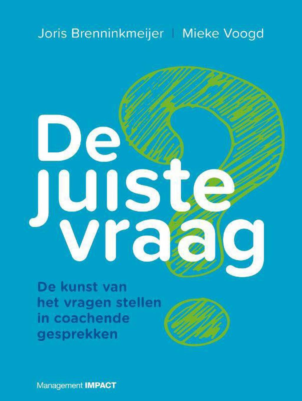 De juiste vraag - Joris Brenninkmeijer en Mieke Voogd