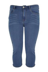 Yoek high waist skinny capri jeans light denim, Light denim