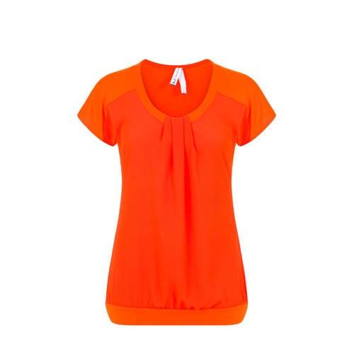 Miss Etam Regulier T-shirt oranje