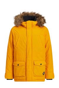 WE Fashion gewatteerde winterjas geel, Geel