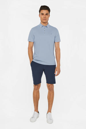 slim fit polo morning blue