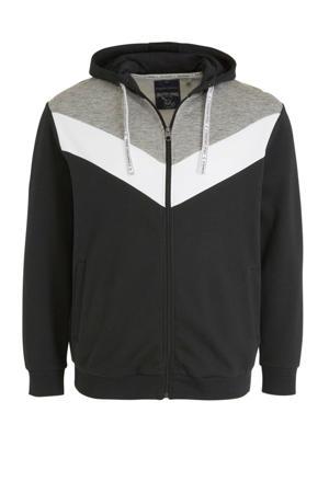 vest zwart/wit/grijs