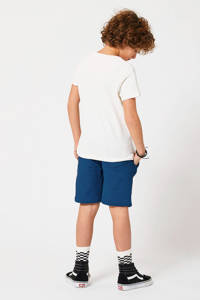 America Today Junior T-shirt Easton met logo ecru, Ecru