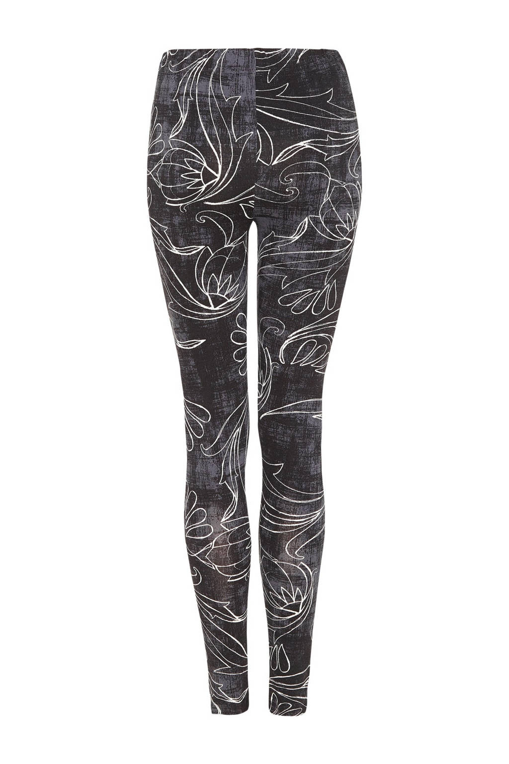 Didi legging met all over print zwart, Zwart